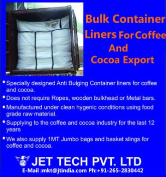 container liner Blue for coffee & Cocoa image